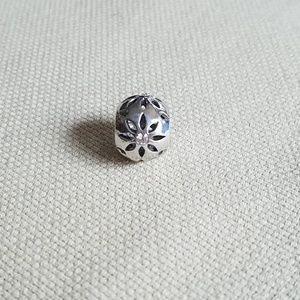 Jewelry - Silver flower spacer charm